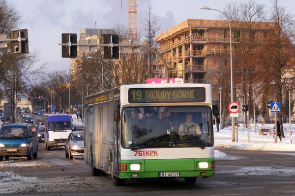 Автобус № 19 в Белостоке