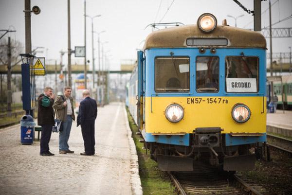 Поезд Гродно – Белосток –